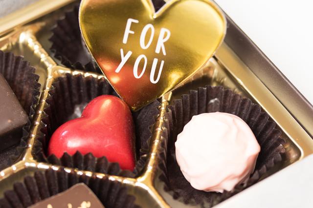 バレンタインの本命チョコ