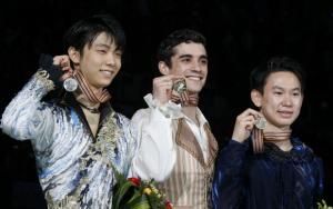 2015世界選手権で銀メダルの羽生結弦