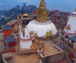 甚大な被害を出したネパール大地震