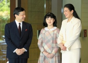 皇太子ご夫妻と愛子さま