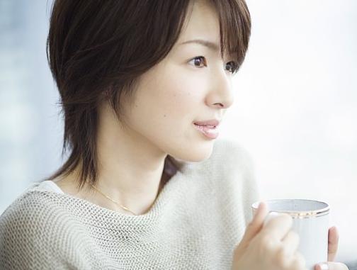 ショートの髪型が綺麗な吉瀬美智子