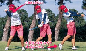 ゴルフスイング練習