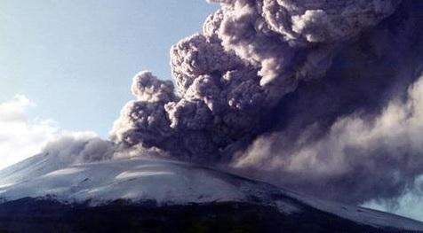 浅間山の噴火
