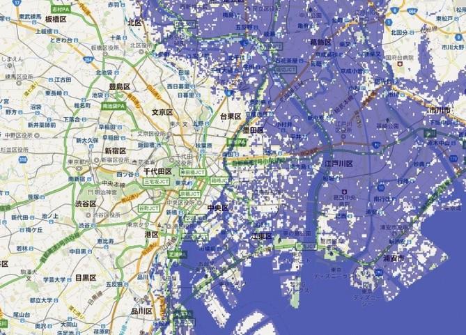 関東で地震の強い地域