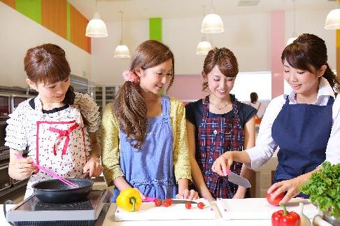 人気の習い事(料理教室)