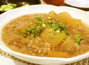 冬瓜レシピひき肉編