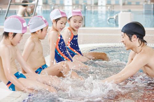 子供に人気の習い事水泳教室