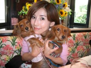 川島なお美の愛犬たち