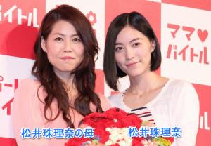 松井珠理奈の母と松井珠理奈