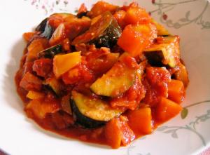 美肌レシピ、トマトラタトゥイユ