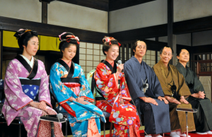 NHK朝ドラ「朝が来た」のキャストの会見