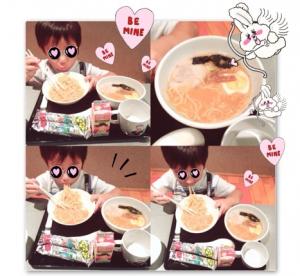 辻希美のブログに出てたラーメン記事の写真