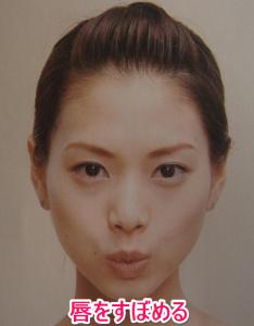 顔の筋トレー法令上