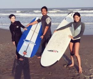 サーフィンが好きな伊倉愛美