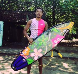 サーフィンが好きな金子賢