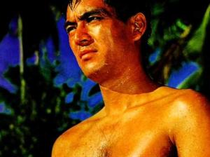 サーフィンをしてた若い頃の加山雄三