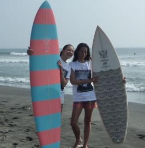 サーフボードとSHIHO
