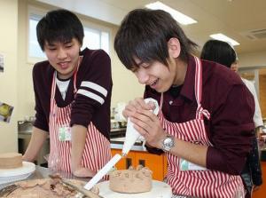 スイーツ男子の料理教室