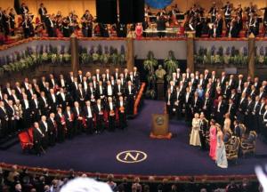 ノーベル賞の授賞式