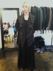 北村諒のスカートファッション