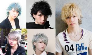 北村諒の様々な髪色や髪型