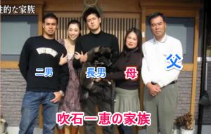 吹石一恵の家族の写真