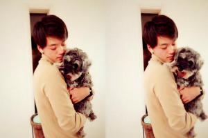 竹内涼真のの飼っている犬レアちゃん