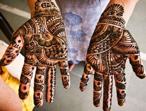いろいろなヘナタトゥーのデザイン