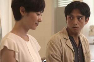 ドラマ」「月の紙」で演技する満島真之介