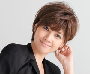 内田有紀の髪型「グラデーションボブ」