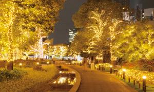 東京ミッドタウン「ツリーイルミネーション」