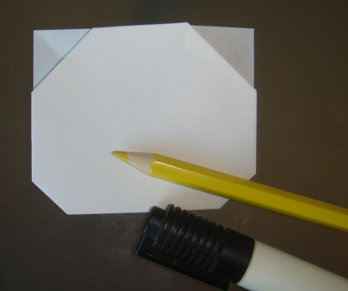 キティちゃんの折り紙の折り方-10