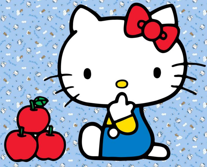 キティちゃんを折り紙で作ってみよう!