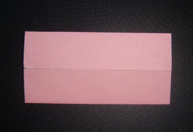 キティちゃん折り紙、リボンの折り方-2