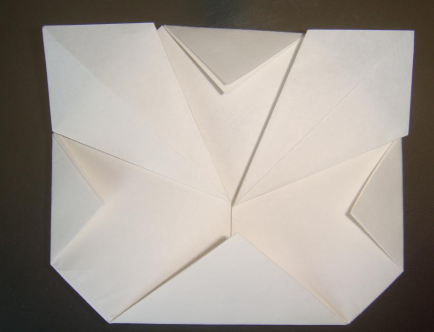 キティちゃん折り紙の折り方-8