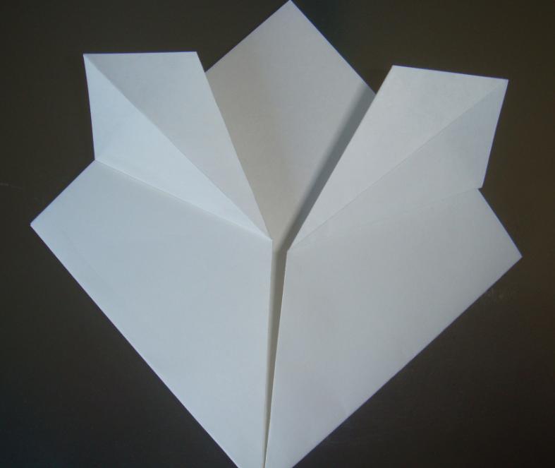 キティちゃん折り紙の折り方6