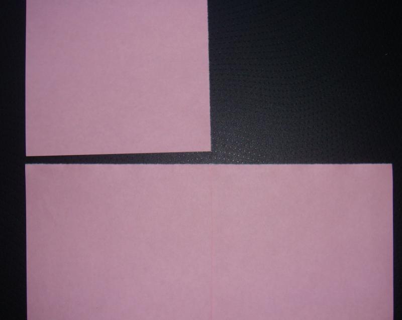 キティちゃん折り紙リボンの折り方-1