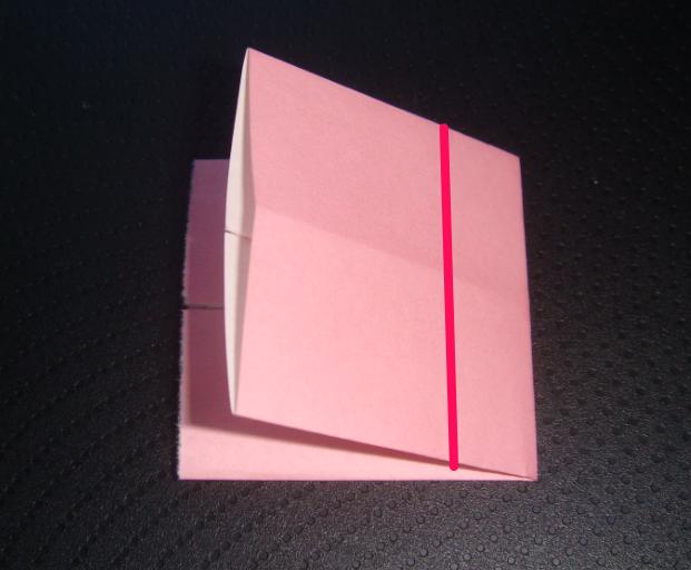 キティちゃん折り紙リボンの折り方-4