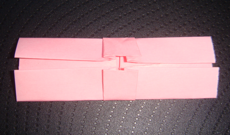 キティちゃん折り紙リボンの折り方-9