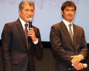 下町ロケットで吉川晃司と共演した阿部寛