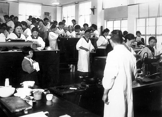東京ガスの料理教室は歴史が長い