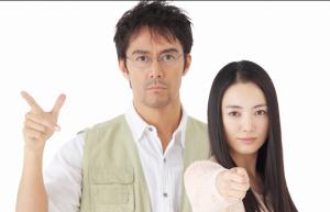 阿部寛と仲間由紀恵が共演した「TRICK」