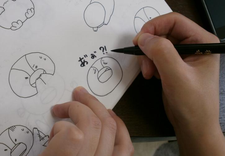 LINEスタンプを手書きで作る方法