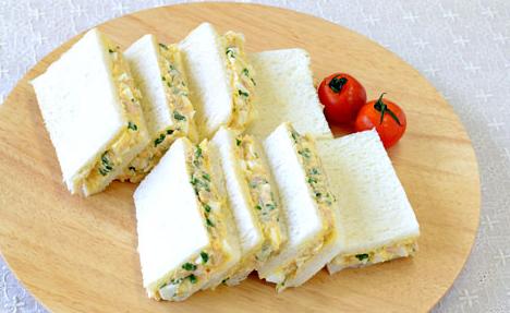 ブロッコリースプラウトのサンドイッチレシピ