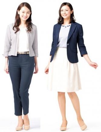 働く女性の服装、オフィス系