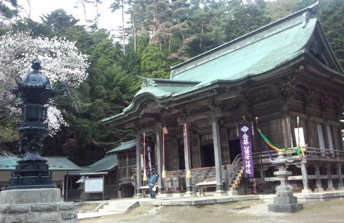金運アップの神社、宮城県の「金華山黄金山神社」