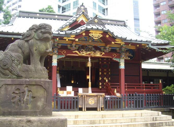 金運アップの神社、渋谷の「金王八幡宮」