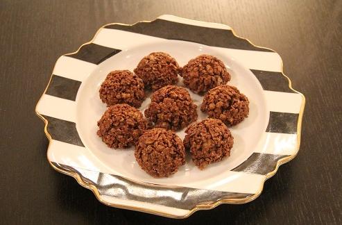 みきママレシピ「チョコクランチ」