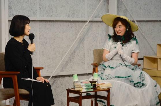 柚木麻子のトークショー