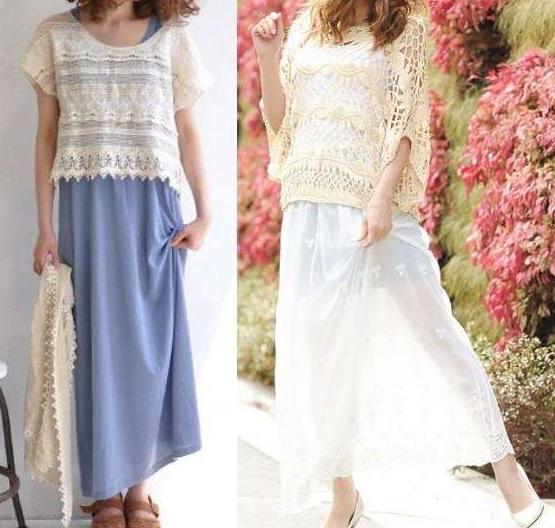 足が太い人の夏ファッションコーデ